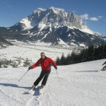 Skifahren rund um die Zugspitze © Hotel Alpenrose in Tirol