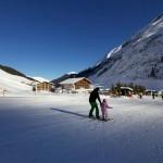 Direkt an der Piste ©Hotel Hintertuxerhof in Tux in Tirol