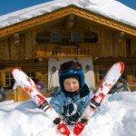 Skifahren mit Kinder am Hochkönig, Quelle: Wellnesshotel Mitterwirt