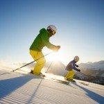 Skifahren, Quelle: Posthotel Pfunds in Tirol