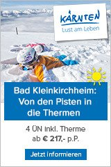 Skiwellness in Bad Kleinkirchheim